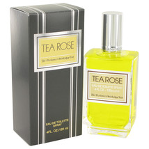 TEA ROSE by Perfumers Workshop Eau De Toilette Spray 4 oz - $18.95