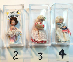 Choice Ethel Hicks Angel Children Miniature Dolls + others Ballerina, Be... - $36.10+