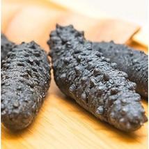 XLSEAFOOD Sun Dried Wild Caught Black pin Atlantic Sea Cucumber AAAA Grade 5 yea