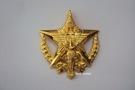 Command and Staff Royal Thai Metal Military Badge Insignia Collectible Militaria - $32.73