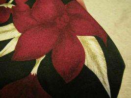 Necktie 417 Van Heusen Men's EUC Neck Tie Silk Red Tan black Floral Trop... - $15.00