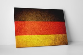 "Vintage Flag of Germany Gallery Wrapped Canvas 20""x30"" - $53.41"