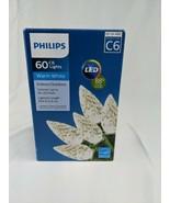 Philips 60ct LED Christmas C6 Garland String Light Warm White - $8.05