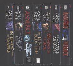 "Anne Rice 7 Book Set ""Interview with the Vampire"", ""The Vampire Lestat"",... - $59.99"