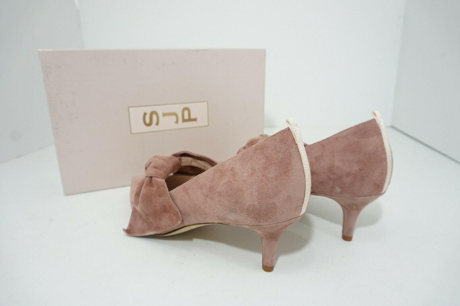 SJP Sarah Jessica Parker Roux 50 mm Pink Suede Women's Pumps US 6.5/ EU 37