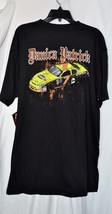 NASCAR CHASE AUTHENTICS NWT Black Danica Patrick #7 Short Sleeve Shirt M... - $18.69
