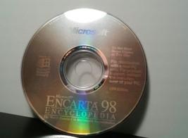 Microsoft Encarta 98 Encyclopedia Software (1998, Microsoft) - $4.99