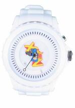 Flud Pato Abajo Disco 15yr Blanco Aniversario Reloj Hip Hop Música 15 Años Nib