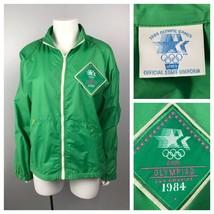 1980s Levis 84 Olympics Staff Track Jacket  / Men's Medium / 80s Employe... - $67.15