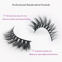 Sassina 3D Mink Eyelash Extension 100% Handmade Thick Volume Long False ... - $26.78