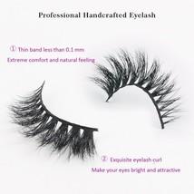 Sassina 3D Mink Eyelash Extension 100% Handmade Thick Volume Long False Lash 1 P - $26.78