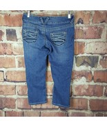 Maurices Capri Cropped Jeans Size 3/4 Juniors Thick Stitch #286 - $16.82