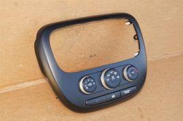 2014-16 Kia Soul Heater Climate Control Switch Panel Radio Trim image 3