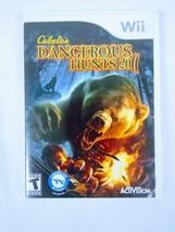 Wii Cabelas Hunting Games Lot Of 3 2010-2012 Big Game Hunter Dangerous H... - $19.79