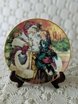 Avon The Wonder Of Christmas Collectors Plate Porcelain 1994 22K Gold Trim - $14.54