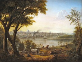 Saint Louis in 1846 by Henry Lewis Old Masters 11x14 Art Print - $29.69