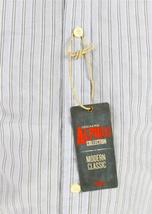 NEW DOCKERS MEN'S LONG SLEEVE BUTTON UP SHIRT LIGHT BLUE STRIPES SIZE SMALL image 5