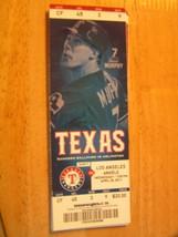 2011 Texas Rangers Full Unused Ticket Stub Vs Los Angeles Angels 4/20 - $0.98