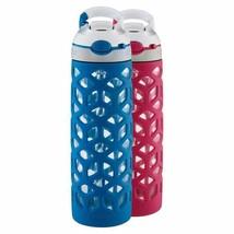 Contigo Ashland Pink Blue Water Bottle 2-Pack 20oz BPA Free CHEAP - $947,65 MXN