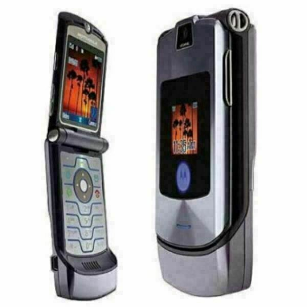 Primary image for ORIGINAL Motorola RAZR V3i Silver Gray 100% UNLOCKED Mobile Cell Phone WARRANTY