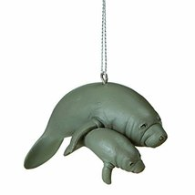 """Midwest CBK 3"""" Resin Mama & Baby Manatee Ornament - $9.29"""