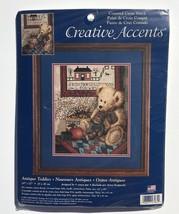 Antique Teddies Cross Stitch Kit Teddy Bear 10 x 12 Creative Accents #79... - $24.14