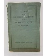 Antique 1900 Guide to Exhibition Galleries British Museum Second Edition - $13.85
