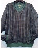 Cabela's Men's XL Outdoor Gear Multi-Color Plaid Golf Shirt Jacket with ... - $19.02