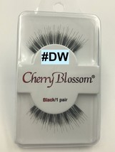 CHERRY BLOSSOM EYELASHES MODEL# DW  BLACK 1 PAIR PER EACH PK - $1.48+