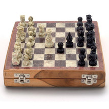 Varmohey Chess board set| Game for childern and adults|Marble chess set ... - $44.00