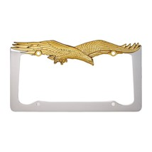 Personalized License Plate Frame Chrome, Decorative License Plates Frame... - $16.39