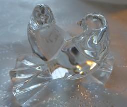 Baccarat Crystal Doves Symbolizes Love and Devotion Marked on base - $199.99