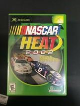 X-BOX NASCAR Heat 2002  -Microsoft - COMPLETE CIB Very Clean -Fast Ship - $7.87