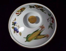 """Royal Worcester Evesham Gold 10"""" Casserole Entree Dish & Lid with Flat H... - $59.99"""