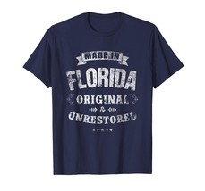 New Shirts - Florida Made Funny Florida Gift T-shirt Men - $19.95+