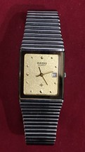 Rado Gold Dial And Stainless Steel Quartz Dressing Watch Stunning Gift/Present image 2