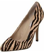 NWOT Steve Madden Sz 6.5 M Tiger Intrud L Pony Hair Heels - $39.59