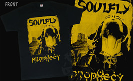 SOULFLY - Prophecy, Black T-shirt Short Sleeve-sizes:S to 5XL - $16.99+
