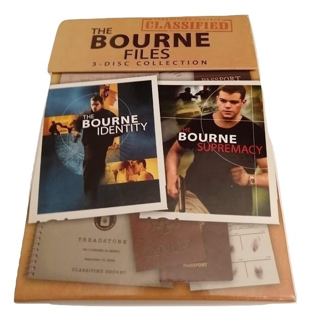 The Bourne Files 3-Disc Collection