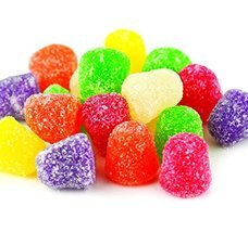 Old-Fashioned Gummi Spice Drops Candy, 1 Lb. Bag (Pack of 2) - $7.95