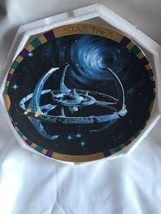 Star Trek Deep Space Nine Morgan Plate Collection - Space Station w/ COA #2231A - $30.36