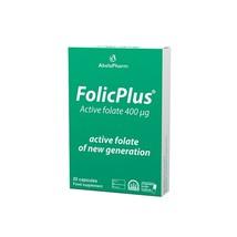 FOLICPLUS 20 CAPSULES - active folate 400 µg of the latest generation - $27.00