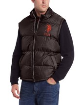 Us Polo Assn Men's Classic Athletic Sports Hunting Vest Brown 105215Po Size L