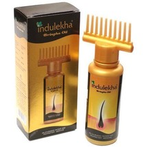 Indulekha Bringha Hair Oil Selfie Bottle 100 ML For Regrow Hair Faster A... - $14.03