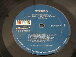 The Ventures Play Telstar Dolton BLP-2019 Stereo Vinyl LP 1st Press Rare Oddity image 4