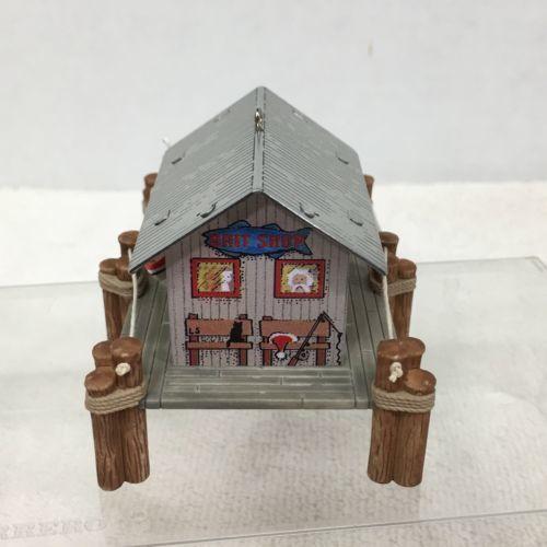 2000 Town Country Bait Shop #2 Hallmark Christmas Tree Ornament MIB Price Tag H2