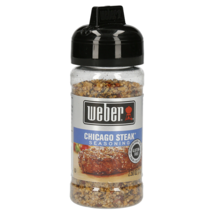 Weber Grill Creations Chicago Steak Seasoning, 5.5 oz - 10/21 Expiration - $7.69