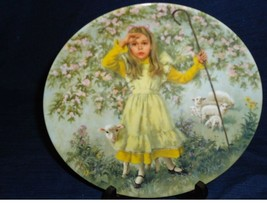 <>< collectore plate with COA Little Bo Peep John McClelland Reco Mother... - $4.99