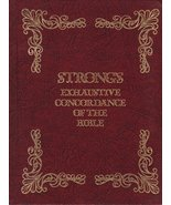 Strong's Exhaustive Concordance of the Bible, with Hebrew, Chaldee and G... - $77.96