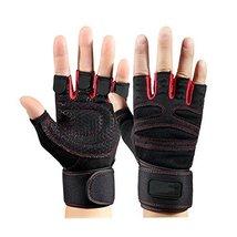 A Pair Dumbbell Training Equipment Non-slip Gloves Knee Braces Fitness - $16.94